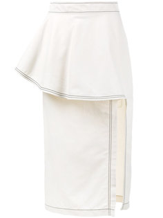 юбка с оборками  Stella McCartney
