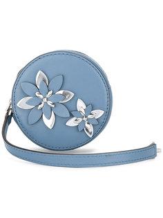 круглый цветочный кошелек Michael Michael Kors