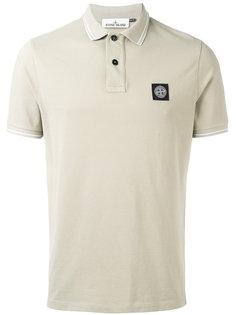 рубашка-поло с фирменной нашивкой Stone Island