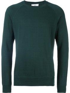 свитер с круглым вырезом и рукавами-реглан Ami Alexandre Mattiussi
