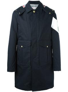 пальто свободного кроя с карманами с клапанами Moncler Gamme Bleu