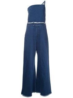 джинсовый комбинезон  Maison Mihara Yasuhiro