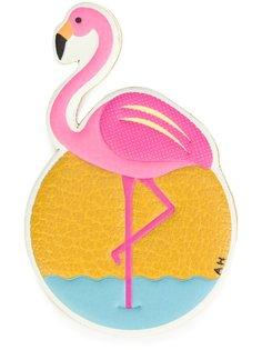 стикер в виде фламинго Anya Hindmarch