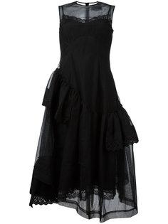 платье с плиссировкой Simone Rocha