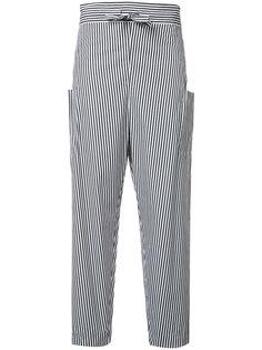 брюки в полоску Maison Rabih Kayrouz