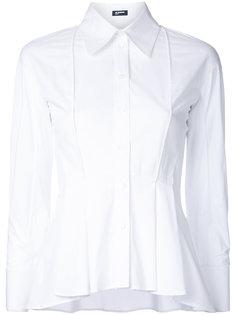 расклешенная рубашка Jil Sander Navy
