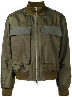куртка-бомбер с накладными карманами Astraet