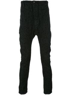 джинсы кроя слим с рваными деталями 11 By Boris Bidjan Saberi