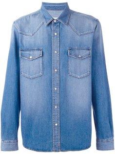 джинсовая рубашка  Ami Alexandre Mattiussi