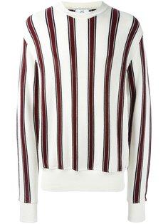 полосатый свитер с круглым вырезом Ami Alexandre Mattiussi