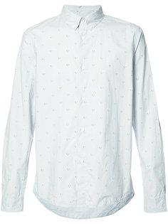 рубашка с воротником на пуговицах A.P.C.