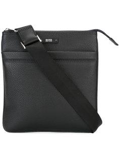 сумка-мессенджер на молнии Boss Hugo Boss