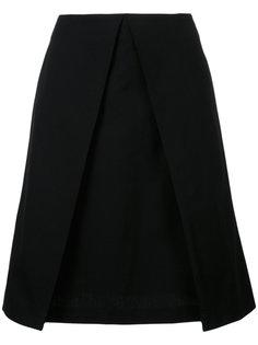 двухслойная юбка А-образного силуэта Astraet