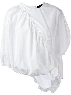 блузка с плиссировкой Simone Rocha