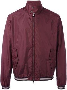 легкая куртка с контрастной окантовкой Moncler
