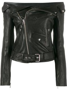 байкерская куртка с открытыми плечами Faith Connexion
