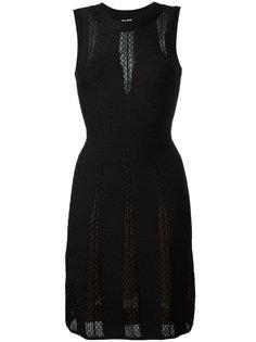 полупрозрачное платье Alaïa