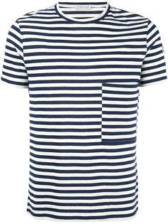 футболка в полоску  Moncler