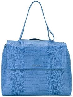 сумка с эффектом крокодиловой кожи Orciani