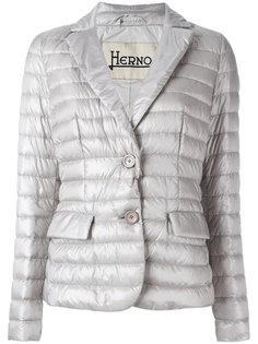 куртка-пуховик с двумя пуговицами Herno