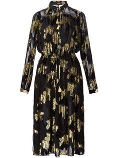приталенное платье-блузка Adam Lippes
