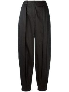брюки свободного кроя Jil Sander Navy