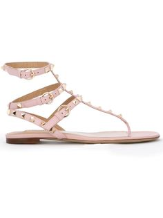 сандалии Rockstud Valentino