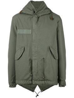 куртка в военном стиле с капюшоном Mr & Mrs Italy