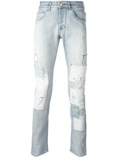рваные джинсы Pierre Balmain