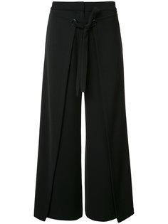 укороченные широкие брюки Yigal Azrouel