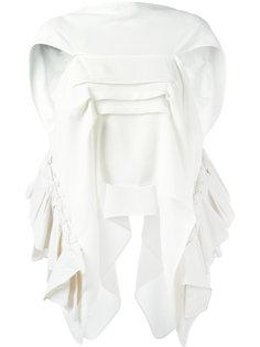 драпированная блузка  Maticevski