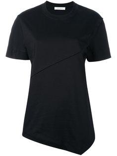 футболка с асимметричным подолом Cédric Charlier