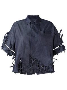 джинсовая рубашка  Facetasm