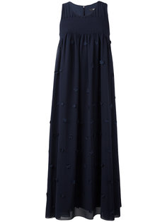 платье с цветочной аппликацией Steffen Schraut