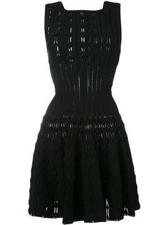 расклешенное мини-платье  Alaïa