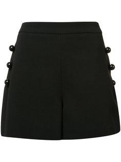 шорты с пуговицами Carolina Herrera