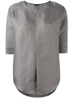 блузка с складками Joseph