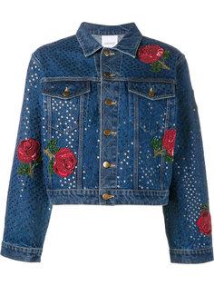 джинсовая куртка с пайектами Ashish