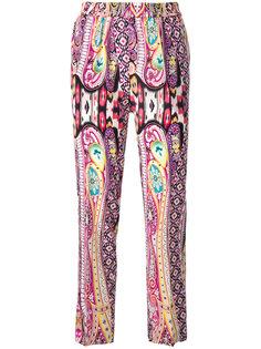 спортивные брюки с принтом Etro