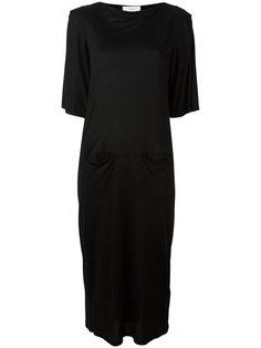 трикотажное платье  Facetasm