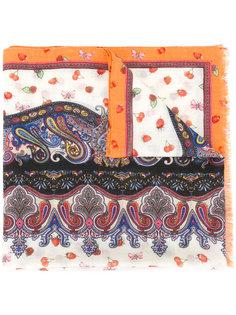 платок с узором Etro