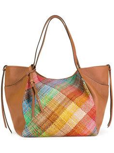 сумка-тоут с плетеным дизайном Etro