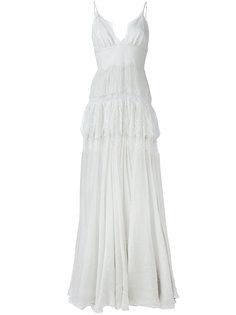 платье макси Clara Maria Lucia Hohan