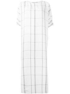 платье в клетку  Studio Nicholson