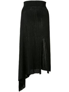 asymmetric ribbed skirt Cushnie Et Ochs