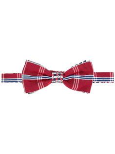 клетчатый галстук-бабочка Pajarita Canali
