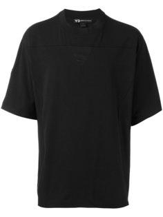 однотонная футболка Y-3