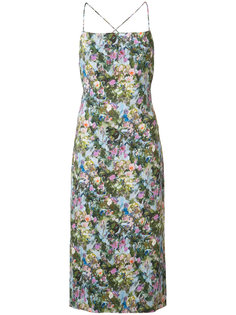 floral print midi dress Cushnie Et Ochs