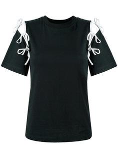 футболка с вырезами  Facetasm