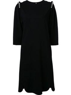 платье с перламутровыми бусинами Muveil